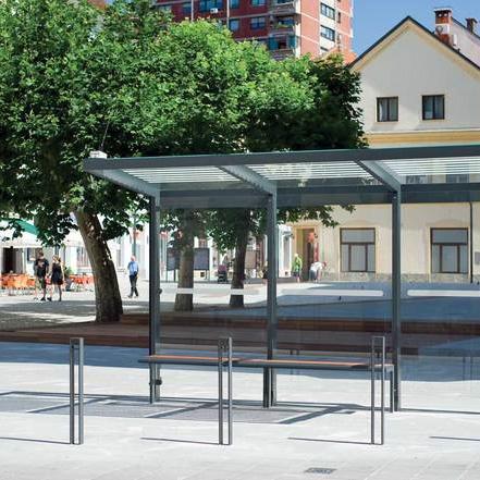 Rekonstrukce autobusových zastávek v Porubě