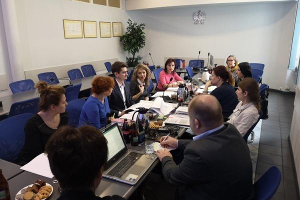 Koordinační schůzka v polské Ratiboři.