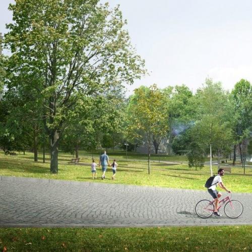 Proměna zámeckého parku a jeho okolí