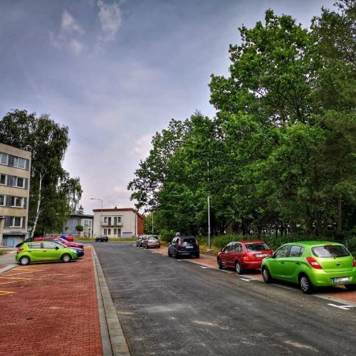 Rekonstrukce ulice Otakara Jeremiáše