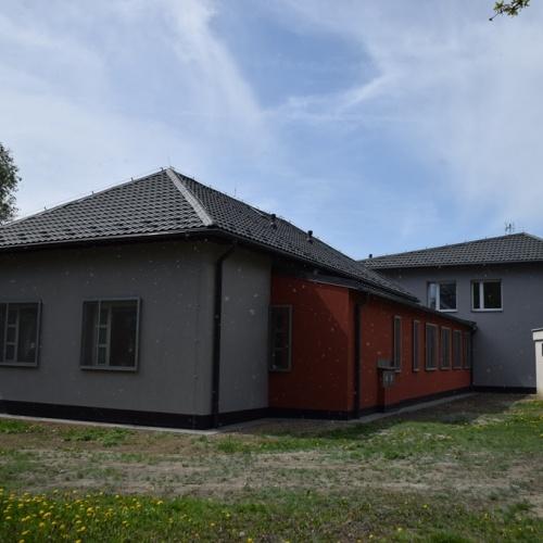 Stavební úpravy Azylového zařízení