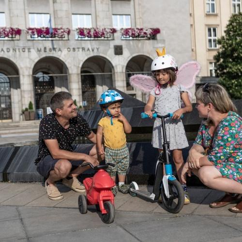 Dny Fajne rodiny a další aktivity rodinné politiky v Ostravě