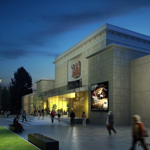 Rekonstrukce Domu kultury Poklad úspěšně pokračuje, realizace běží podle harmonogramu