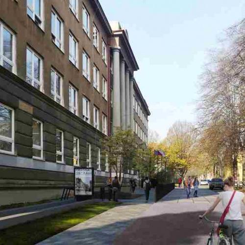 Začala revitalizace porubské ulice Gustava Klimenta