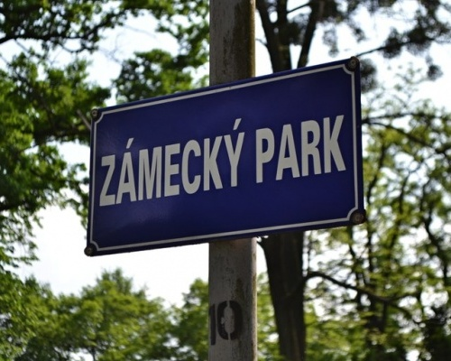 Přijďte si popovídat o Zámeckém parku